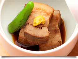 自家製豆腐のサラダ